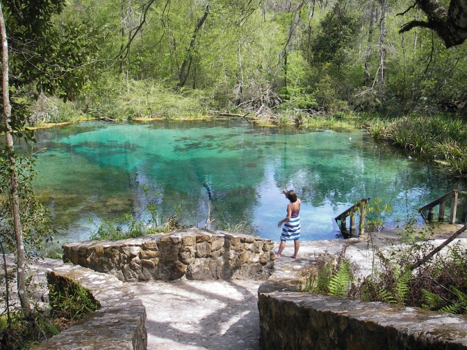 Exploring and kayaking Florida's fabulous springs.