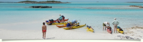 Kayak the Bahamas with us in the Exuma Cays. The best in tropical Caribbean paradise kayaking.