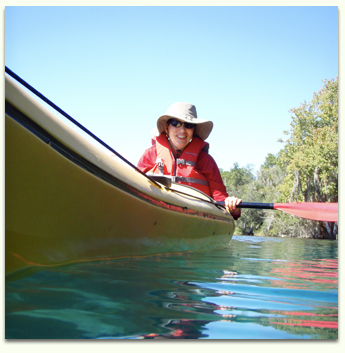 Kayak with manatee, dolphins, and alligators with Adventures in Florida on Juniper Springs, the Silver River, or Alexander Springs.